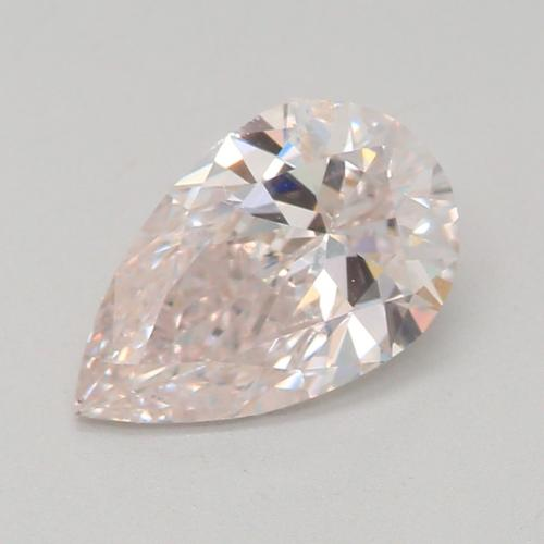 0.71-CARAT, FAINT PINKISH BROWN