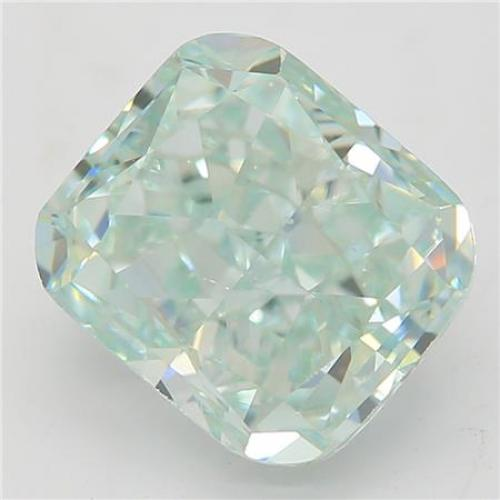 1.79-CARAT, FANCY BLUE GREEN,