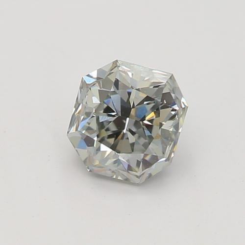 0.41-CARAT, FANCY GRAY BLUE,