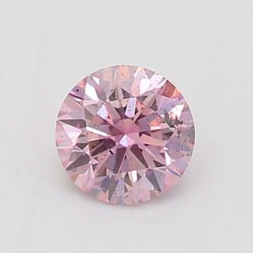0.16-CARAT, FANCY PURPLISH PINK