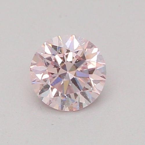 0.12-CARAT, FANCY LIGHT PINK