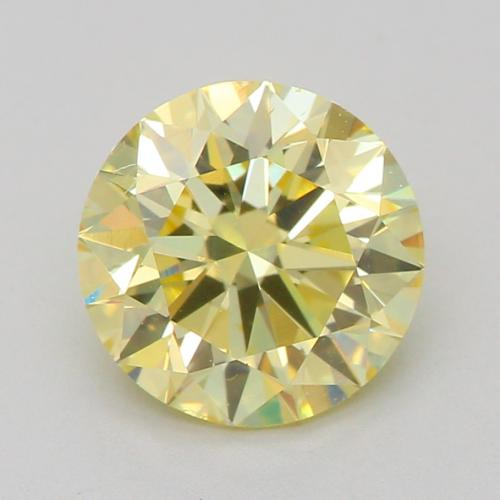 1.01-CARAT, FANCY LIGHT YELLOW