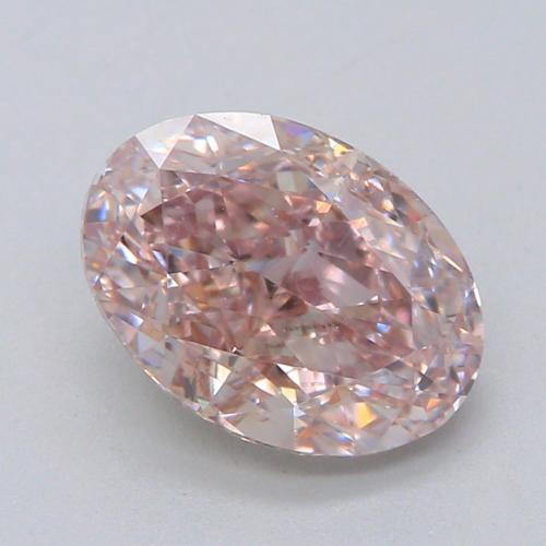 1.02-CARAT, FANCY BROWN PINK,