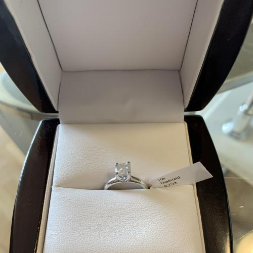 10k White Gold Diamond