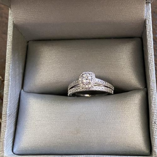 Zales 14K white gold
