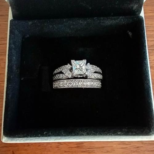 1/2 Carat Princess Cut