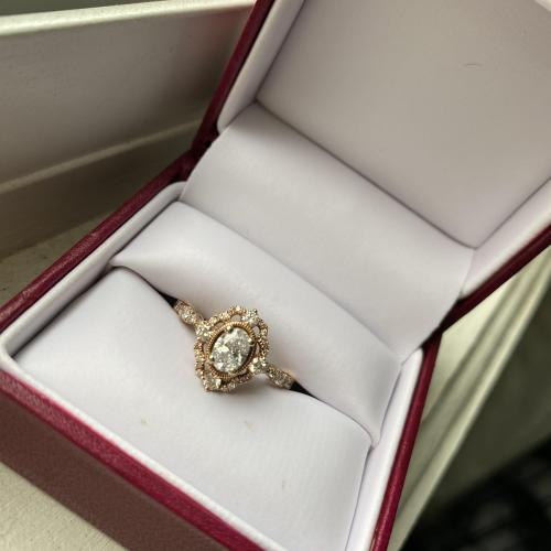 Zac posen 1ct engagement