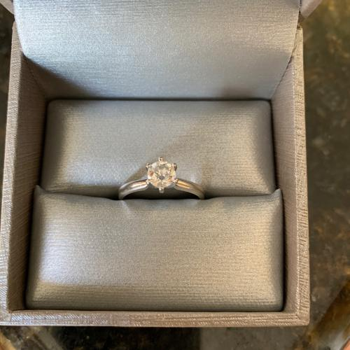 Zales Solitaire Engagement Ring