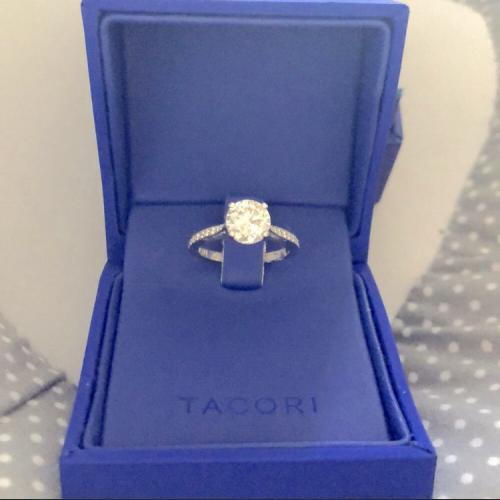 Tacori Engagement Ring Set