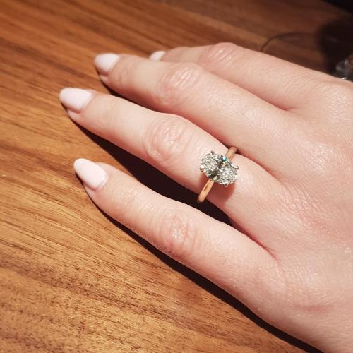 2.05ct Solitaire Diamond Engagement