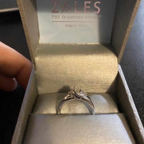 Inexpensive Zales Engagement Ring