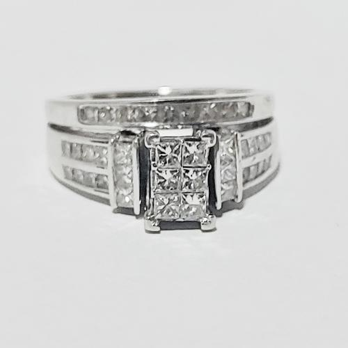 Bridal Set Princess Cut