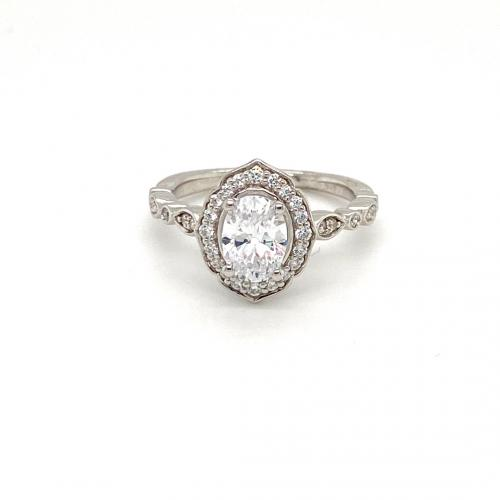 1.25CTW  Diamond Oval