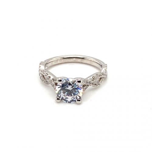 1.85CTW Round Engagement Ring