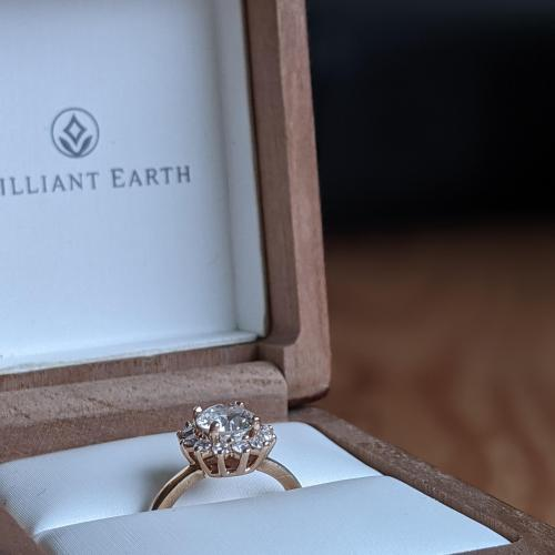 1.0ct Brilliant Earth Conflict