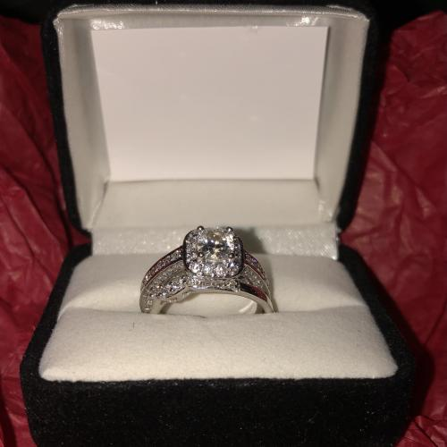 Beautiful Helzberg Cushion Cut