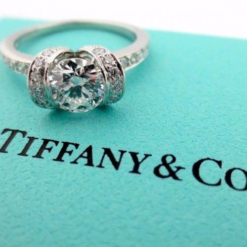 Tiffany Platinum 1.15 ct