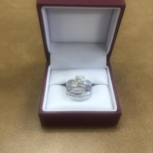 Helzberg Beautiful white gold