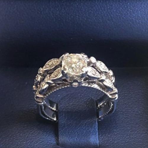 Verragio Engagement Ring (PARISIAN-D-100-GOLD)