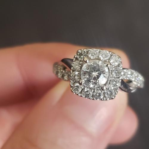 Beautiful Sitara Engagement Ring