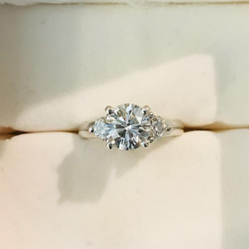 Beautiful Round Brilliant Solitaire