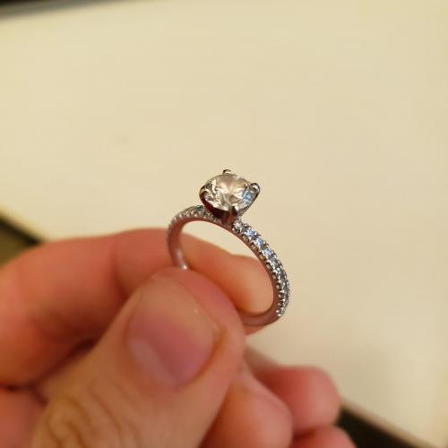 Classic 1ct Pave Beauty