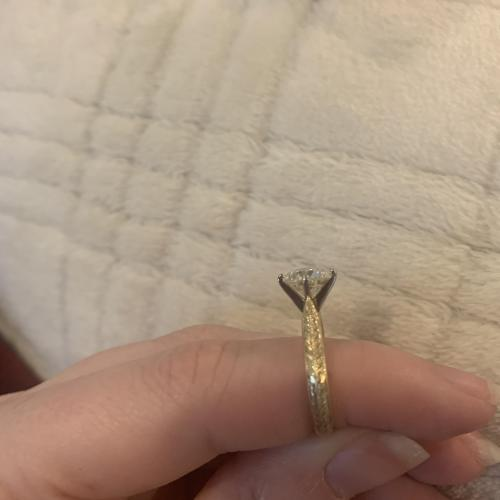 14k and platinum engagement