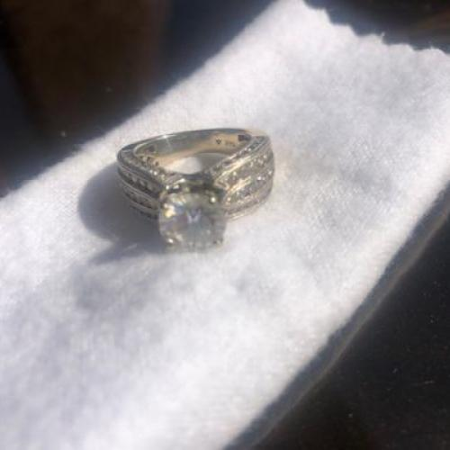 Forever One Moissanite and