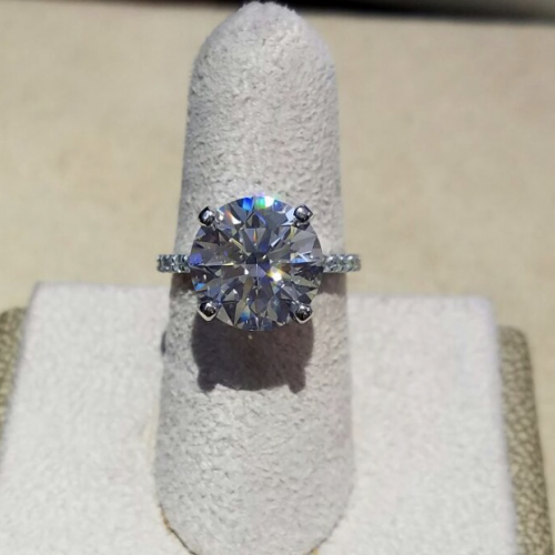 5.53 Platinum Solitaire Diamond