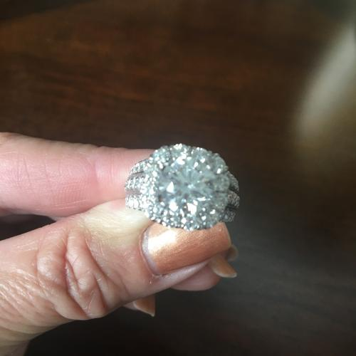 4.51 Ctw Diamond Ring,