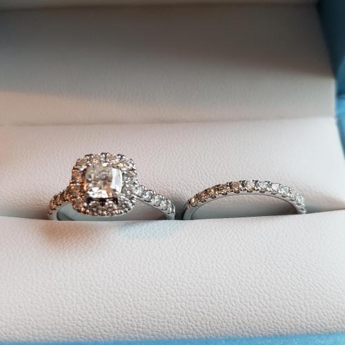 ForeverMark Wedding set in