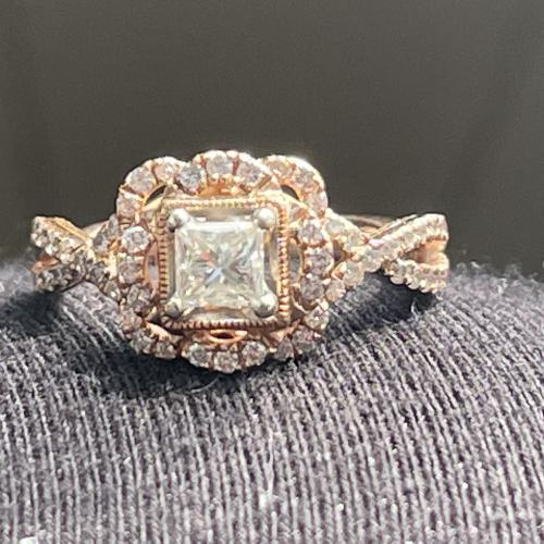 Helzberg Gwen princess cut