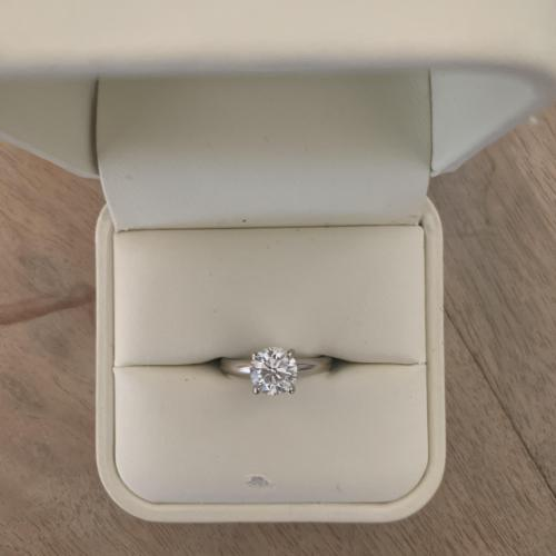 Jared Diamond Solitaire Engagement