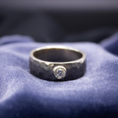 Men's Engagement Ring with