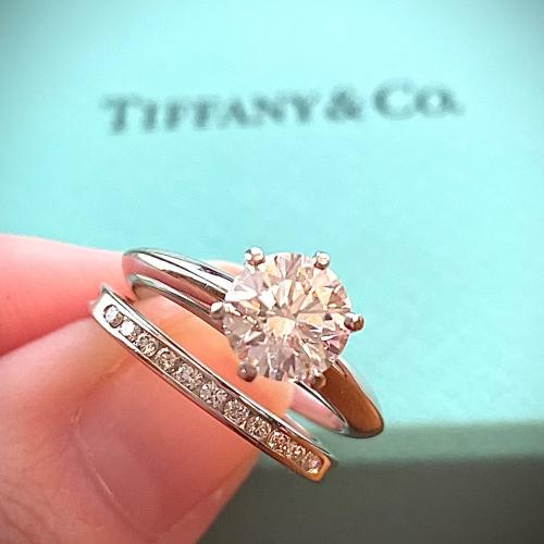 Tiffany engagement ring and