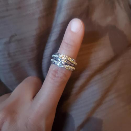 Jared's Engagement ring with