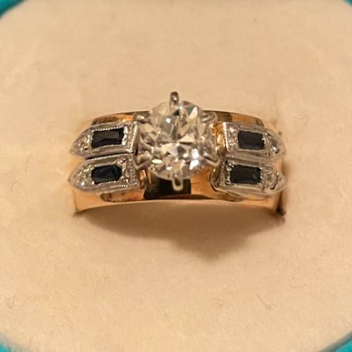 Ladies 14Kt. Two-Tone Gold,