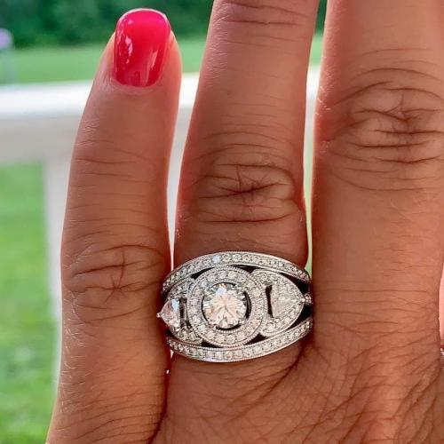 Show Stopper Engagement Ring.