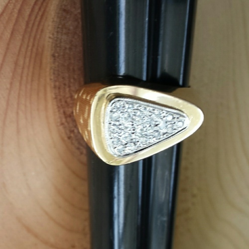 Men's DIAMOND ArrowHead Ring