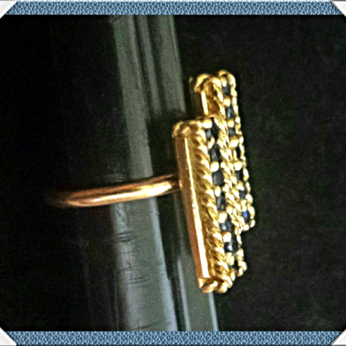 COOL GEM$~VTG 14K GOLD