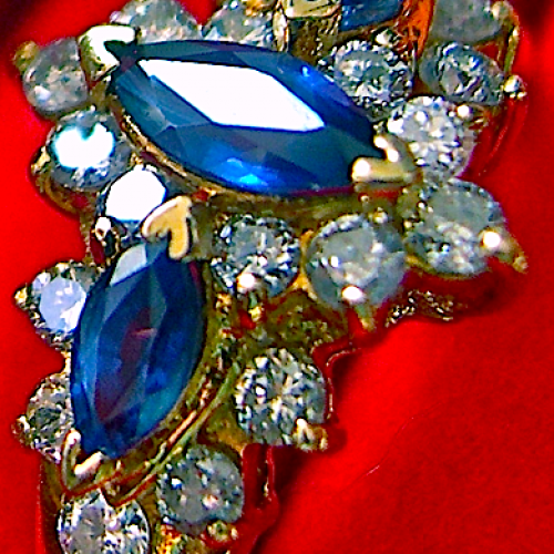 Blue Sapphires & Diamonds