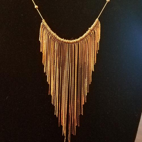 14K Yellow Gold Fringe