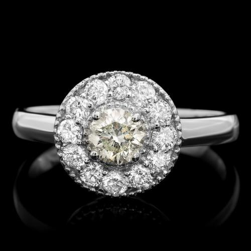 Fancy Diamond 14 k