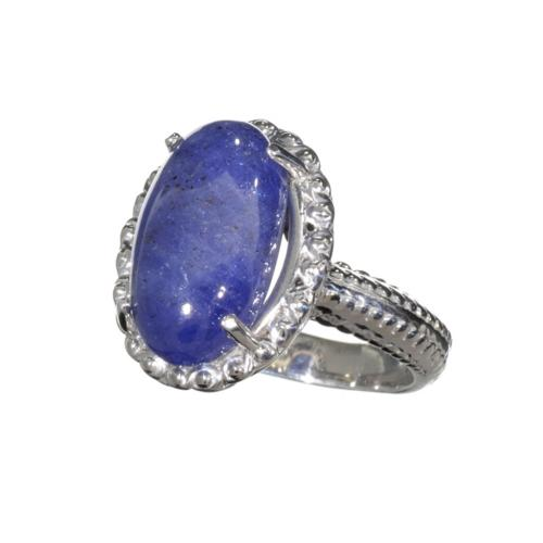Attractive Tanzanite Platinum over