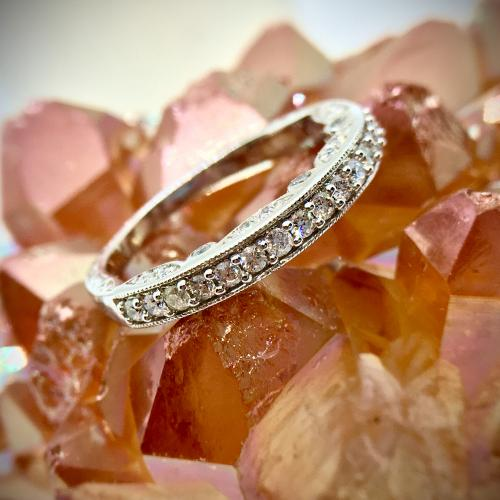 Classic Diamond Ring ,