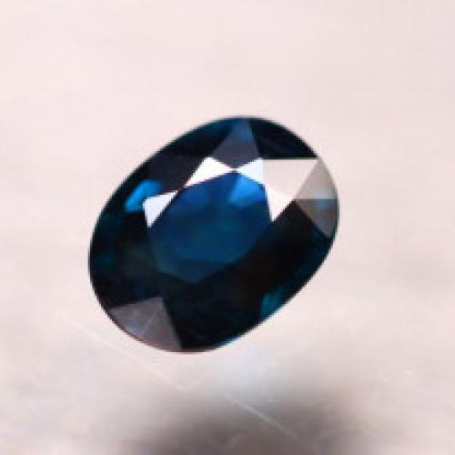 1.11ct Natural Peacock Sapphire
