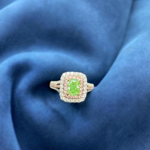 Fancy Green Natural Diamond