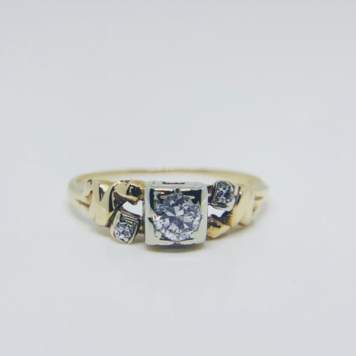 Vintage Diamond 14k Yellow