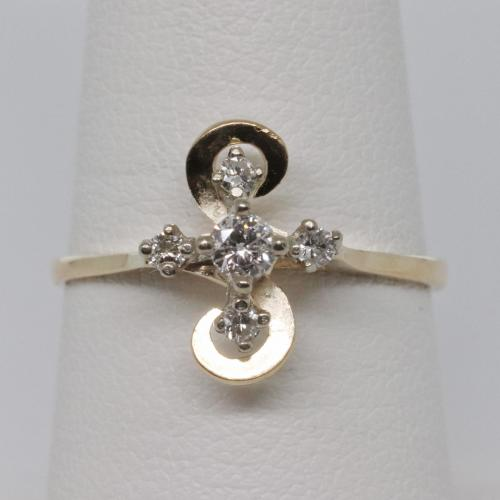 Vintage Diamond 14k Gold