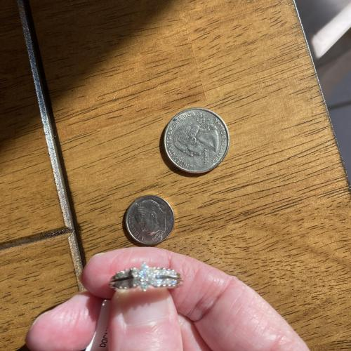 0.50ctw Round White Diamond
